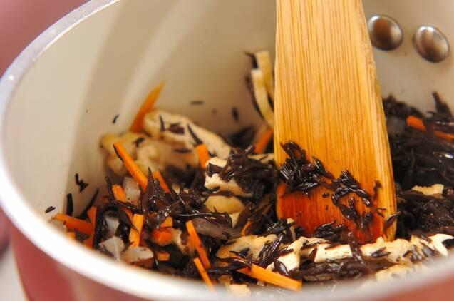 ヒジキの煮物の作り方の手順3