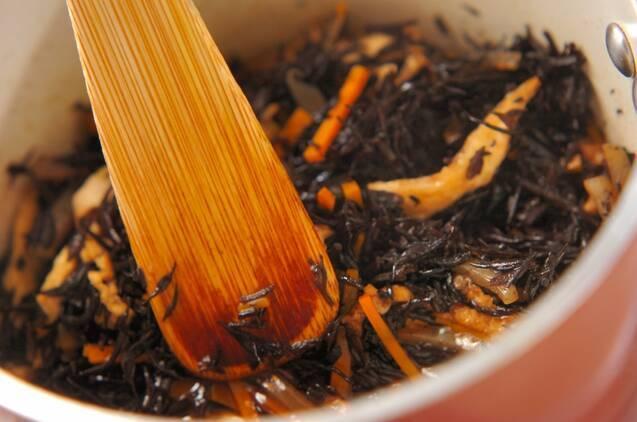 ヒジキの煮物の作り方の手順4