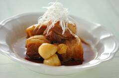 豚のニンニク角煮