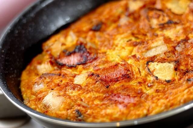 スペイン風オムレツの作り方の手順3