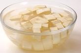 サツマイモの茶巾絞りの下準備1