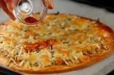 シラスとネギのピザの作り方2