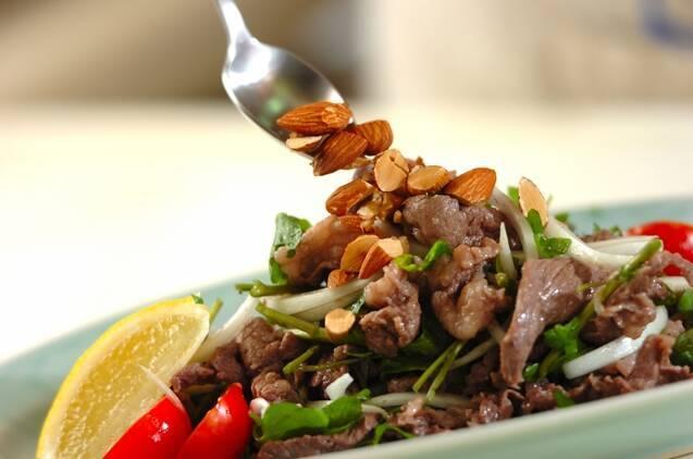 牛肉とクレソンのサラダの作り方の手順6