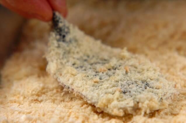イワシのチーズフライの作り方の手順4