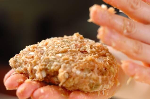 和風旨みチキンハンバーグの作り方の手順5