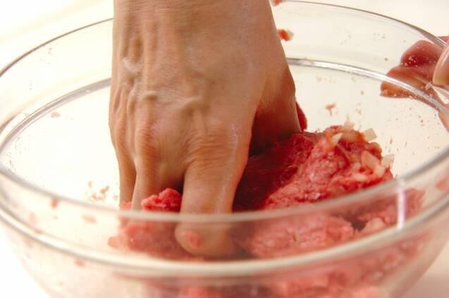 肉団子のトマト煮の作り方の手順2