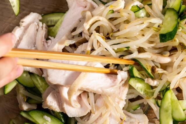 レンジでサラダチキンの作り方の手順7