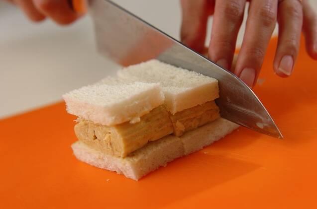 だし巻き卵サンドの作り方の手順5