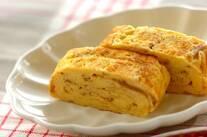 ナメタケの卵焼き