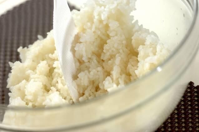 焼きサバの混ぜ寿司の作り方の手順2