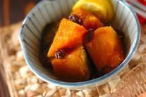 カボチャのハチミツレモン煮