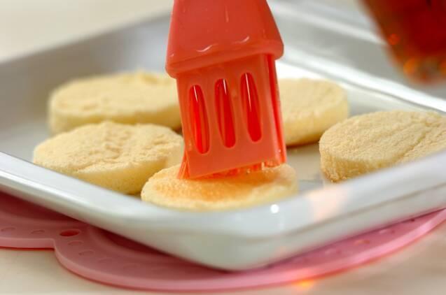 イチゴとカスタードのカップデザートの作り方の手順9