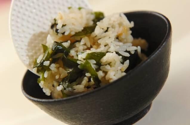 ワカメの混ぜご飯の作り方の手順6