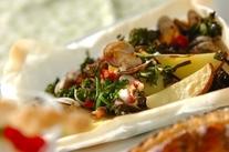 シーフードと春野菜のカルトッチョ