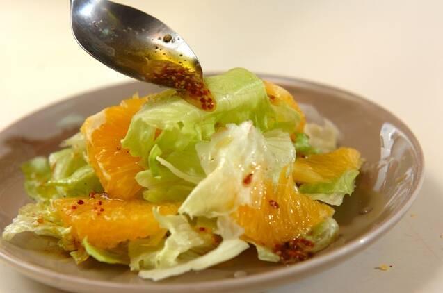 甘夏サラダの作り方の手順4