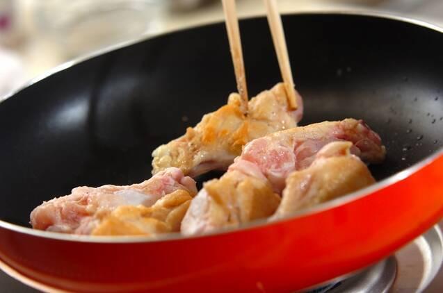 鶏手羽元のやわらかトマト煮の作り方の手順4
