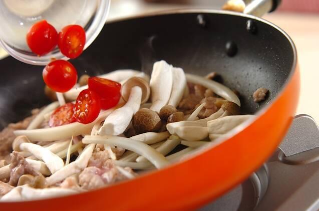 豚こまのショウガ焼き丼の作り方の手順3