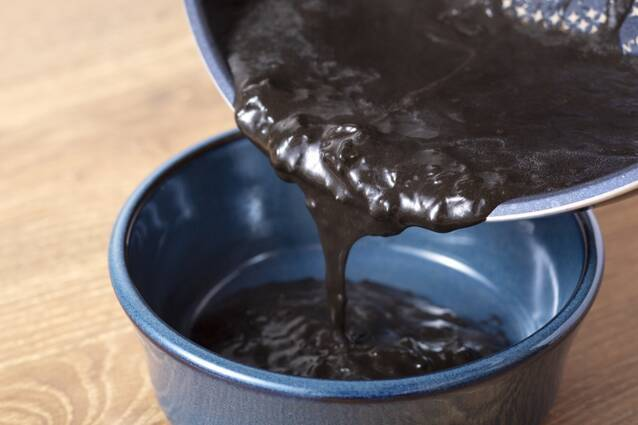漆黒のいかすみチーズフォンデュの作り方の手順9