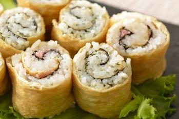 クルクルいなり寿司
