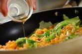 鮭レタスチャーハンの作り方3