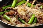 中華風素麺チャンプルーの作り方5