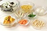 野菜のすいとん汁の下準備3