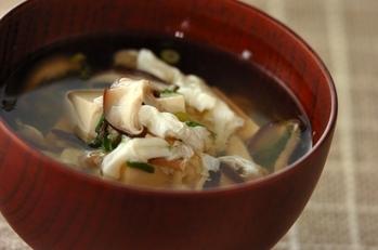 豆腐のふんわり汁