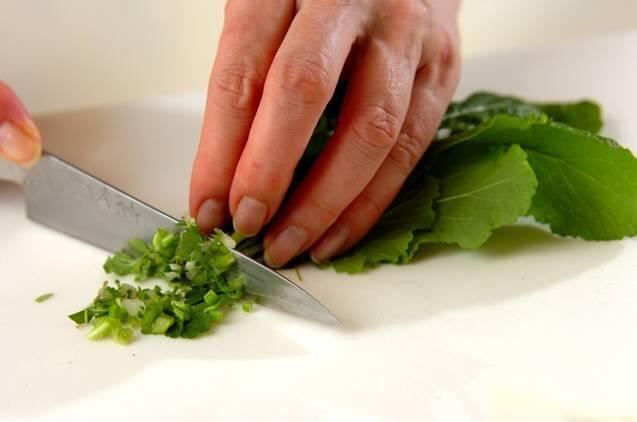 中華七草粥の作り方の手順2