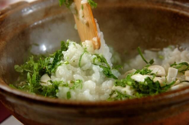 中華七草粥の作り方の手順4