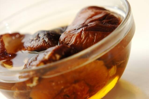 干しシイタケの水餃子の作り方の手順1