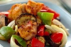 チキンと野菜のオーブン焼きハーブ風味