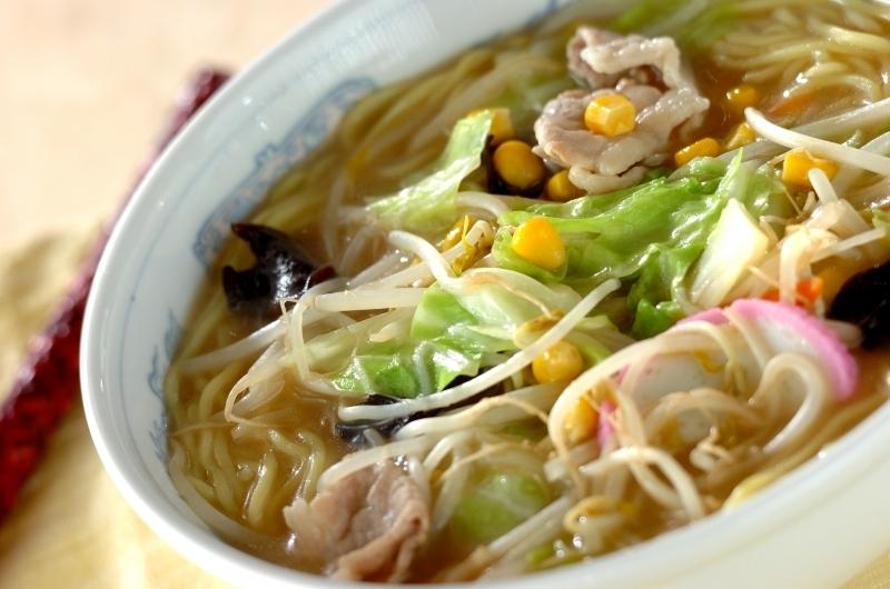 野菜たっぷりちゃんぽん麺