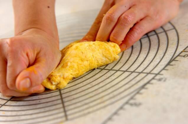 おばけとジャックの蒸しあんパンの作り方の手順3