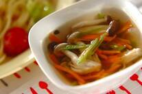 いろいろ野菜のスープ