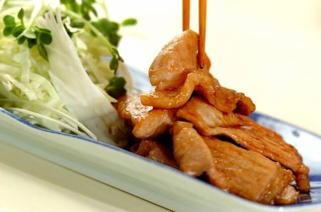 豚肉の甘辛ショウガ焼きの作り方の手順5