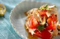 鶏ささ身の中華サラダ