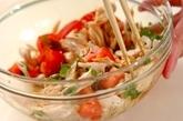 鶏ささ身の中華サラダの作り方3