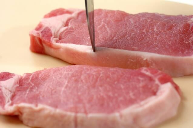 豚肉のみそ漬け焼きの作り方の手順1