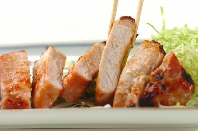 豚肉のみそ漬け焼きの作り方の手順4