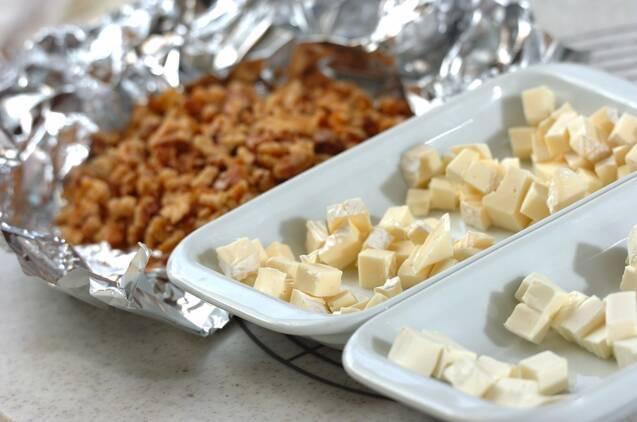 カマンベールのクルミパンの作り方の手順3