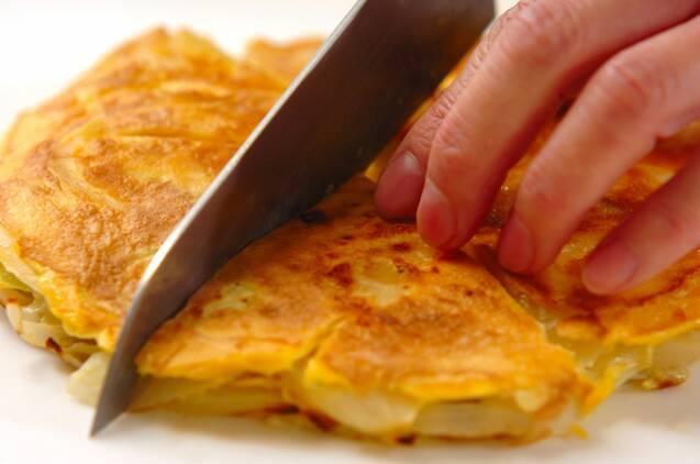 セロリと玉ネギのふわふわチーズ焼きの作り方の手順5