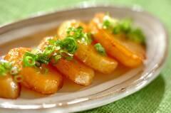 ジャガイモのバターじょうゆ焼き