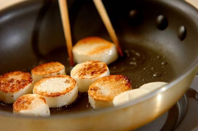 長芋の照り焼きの作り方の手順3