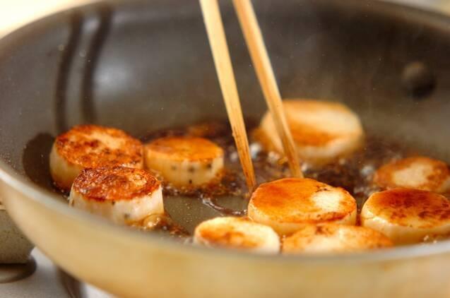 長芋の照り焼きの作り方の手順4