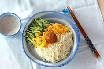 梅ミルクつけ麺
