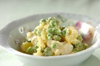 お豆と新ジャガのカマンベール・サラダ