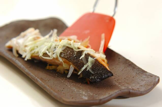 鮭のシンプル蒸し焼きの作り方の手順6