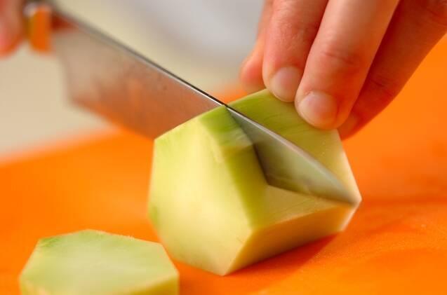 ブロッコリーのすり流しの作り方の手順1