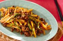 牛肉とジャガイモの中華炒め
