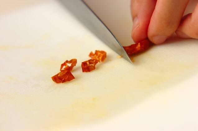 サッパリ白菜のゴマ油がけの作り方の手順1